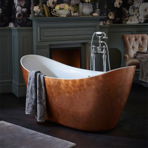 Copper interior bath