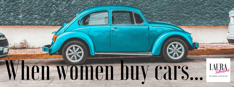 women car buying experience